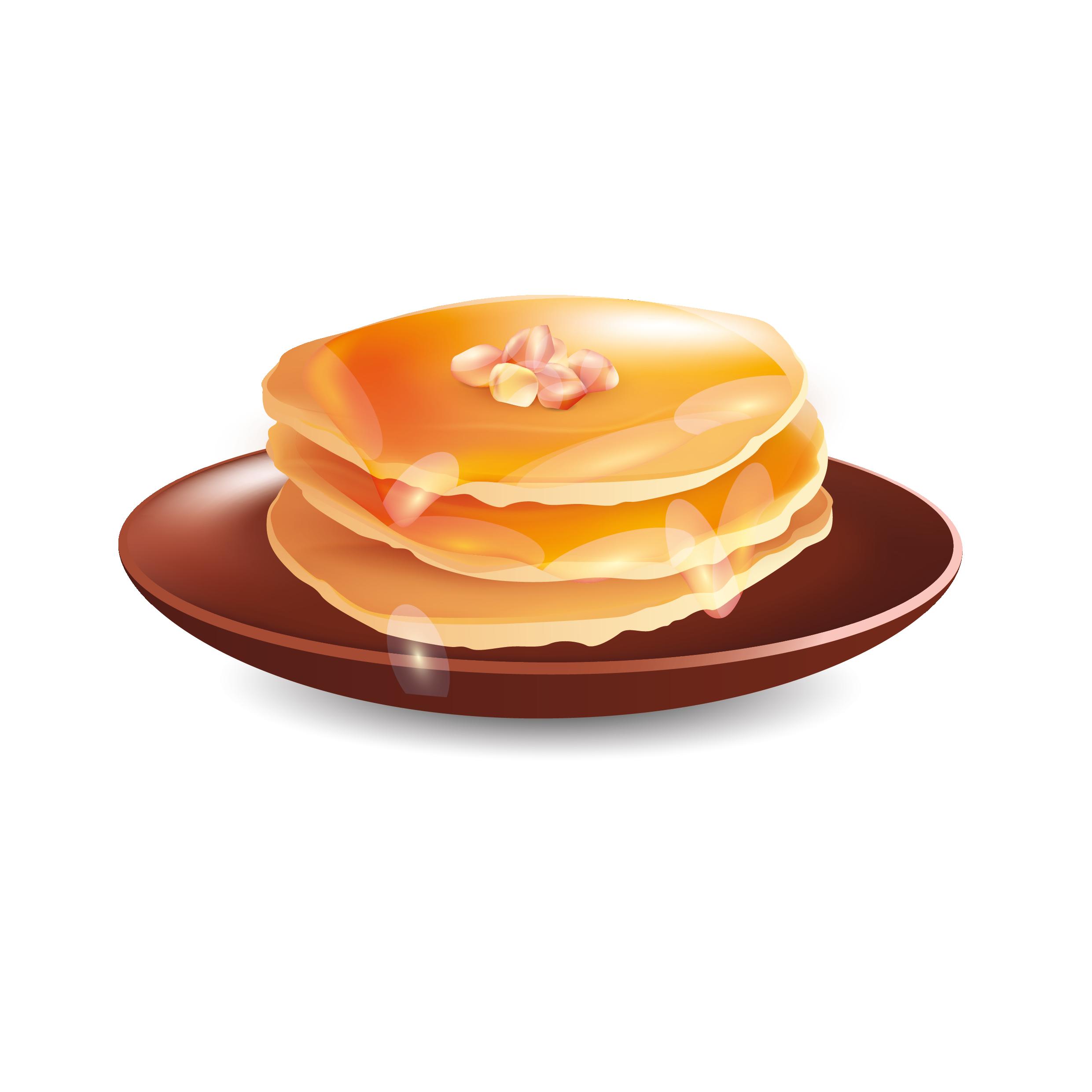 Pancake Miel/sirop érable