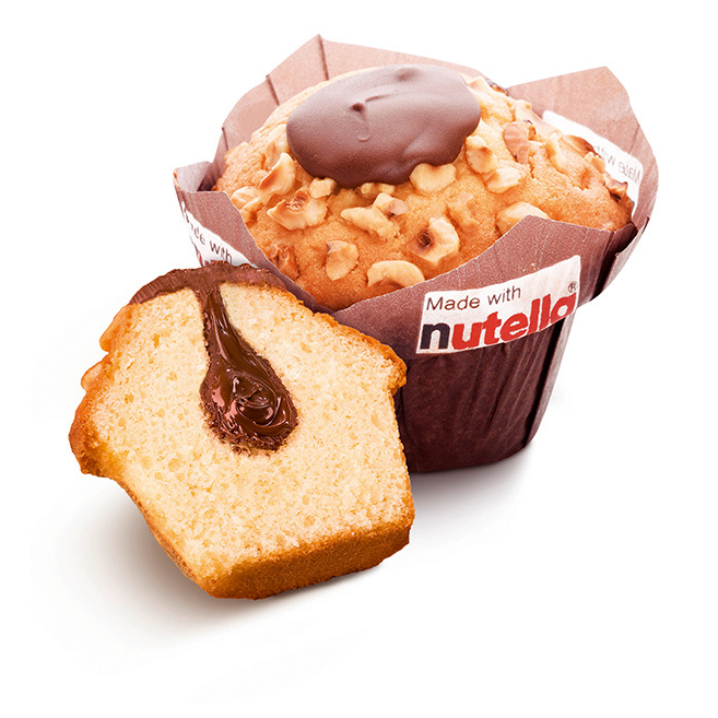Muffin Vanille-Nutella