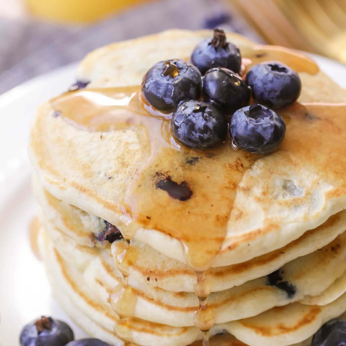Pancake Myrtille