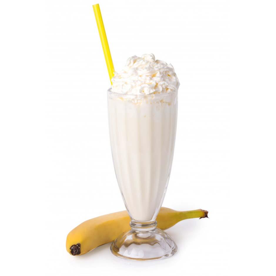 Milkshake Banane Gourmand